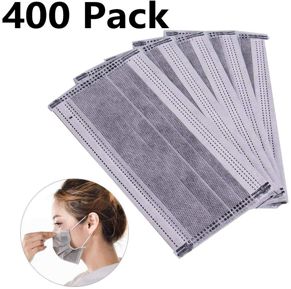 mchoice 50 pcs disposable earloop face mask filters bacteria
