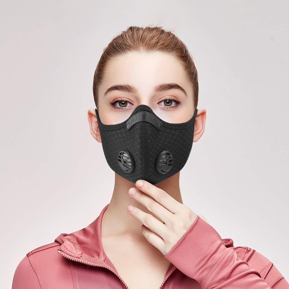 reusable n95 mask with exhaust