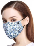 Masks Anti n95 Dust Mask Pollution Mask Earloop Reusable Face Safety Cotton Mouth Masks for Allergies Flu Pollen Dust Travel Running