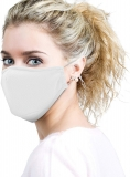 Dr. Hoffmann™ Allergy Mask – Sick Face Mask – Anti Dust, Pollution, Pollen and Flu Protection – N95 – Antimicrobial Kills Viruses/Bacteria/Fungi – Earloop – Washable