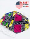 African Print Reusable Washable Cotton Face Mask Handmade Cloth Mouth Cover M004 Generic