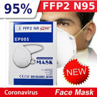 LOT P2 RESPIRATORY MASK FACE PROTECTION ANTI-DUST PAINT FFP2 N95 FILTER NOW t1 Unbranded