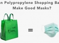 Are Polypropylene Bags Effective as DIY Face Masks for COVID-19?
