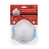 Maxisafe P2 Respirator with Valve 3 Pack Disposable Dust Mask Safety AU Standard