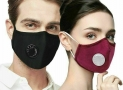4X Bushfire Reusable P2 N95 Smoke Pollution Face Mask + Respirator & Filters Unbranded